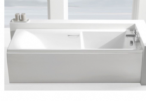 Carron Matrix 1700 x 700mm Twin Grip, Single Ended Bath